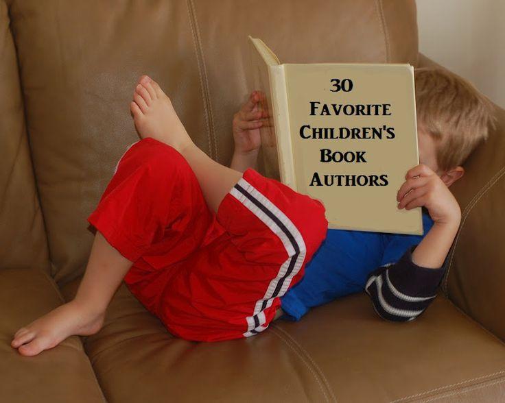 30 Favorite Children's Book Authors