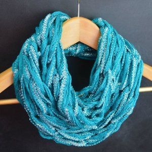 Arm Knit Infinity Scarf Video Tutorial How to Arm Knit: Tutorials and Patte...