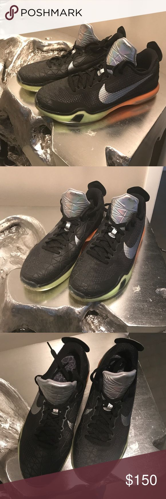 Kobe Bryant Nike's New Kobe Bryant shoes. Worn once to the gym (I'm a personal trainer). No box Nike Shoes Athletic Shoes