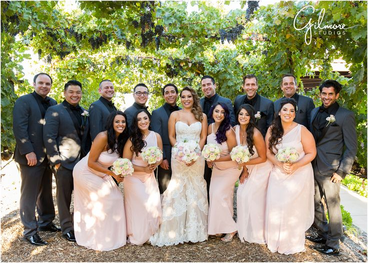 Wilson Creek Winery In Temecula Wedding Vineyard Garden Bride Groom Lace Dress
