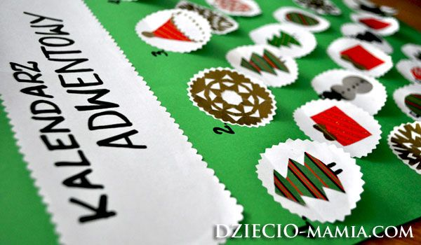 advent calendar, christmas, DIY, dziecio-mamia.com