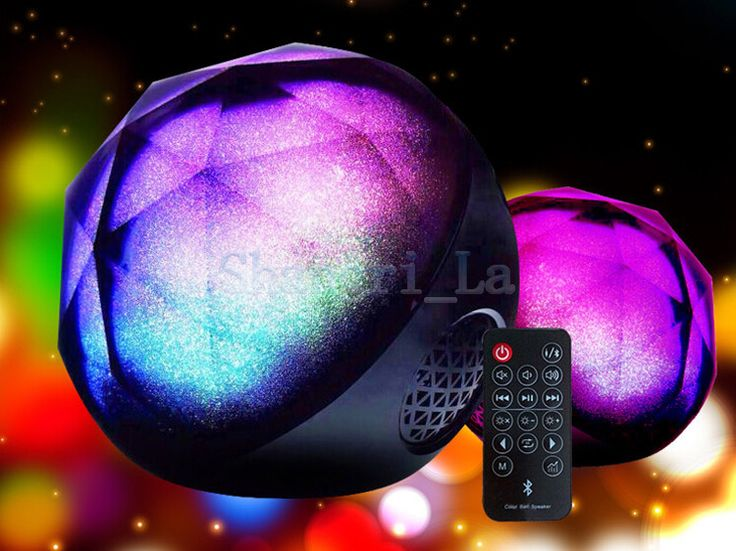 Remote control speaker Color Changing: http://www.goomart.net/products/remote-control-speaker-color-changing-speaker-wireless-audio-player-led-light-magic-crystal-color-ball-speaker-100pcslot/ #Wireless #Audio #LedLight #Speaker