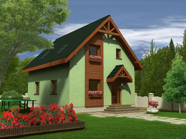 Proiecte de case pentru o familie cu patru membri Best house plans for a family of four