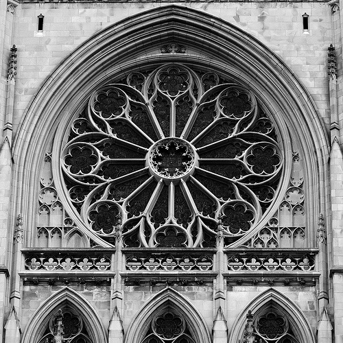 rose window gothic the image kid has it. Black Bedroom Furniture Sets. Home Design Ideas