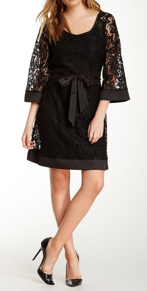 Miilla Belted Lace Dress