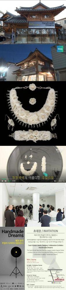 "Jewelry/Design from my collection at an exhibition in Seoul ( "" Handmade Dreams"" /Czech Center) / Šperk z mé kolekce na výstavě "" Handmade Dreams"" v Soulu / Мое украшение на выставке "" Handmade Dreams"" в Сеуле.Video: http://tv.naver.com/v/2612811 #jewelry #jewels #toptags #jewel #fashion #trendy #accessories #crystals #beautiful #ootd #style #fashionista #accessory #instajewelry #stylish #cute #jewelrygram #fashionjewelry #jewelrybynatalia #preciosa #preciosaornela #czechcentre"