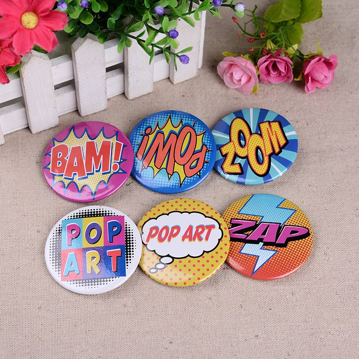6PS Packing Cartoon Metal Pin Badge Acrylic Brooch For Clothes Badge Clothes Badges Backpack Beautify Icons Shoes Pack on Aliexpress.com | Alibaba Group