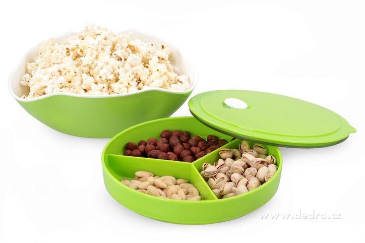Candy box výška 7 ??cm miska na pochutiny jasne zelený, priemer 25 cm | DEDRA SLOVAKIA - darčeky do bytu a do domácnosti