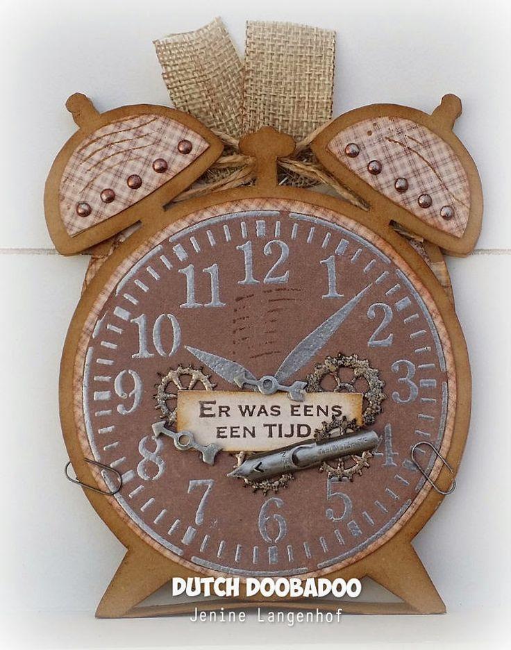 Dutch Doobadoo - Card Art Clock