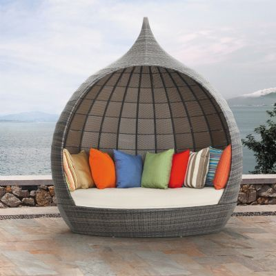 martinique beach day bed with canopy