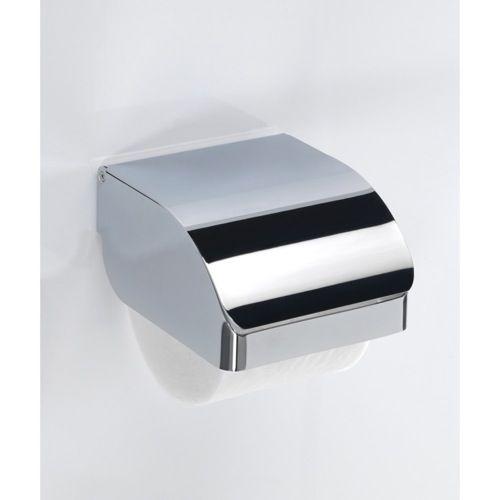 Toilet Paper Holder - Gedy Hotel Chrome Stainless Steel Commercial Toilet Paper Holder 2525-13