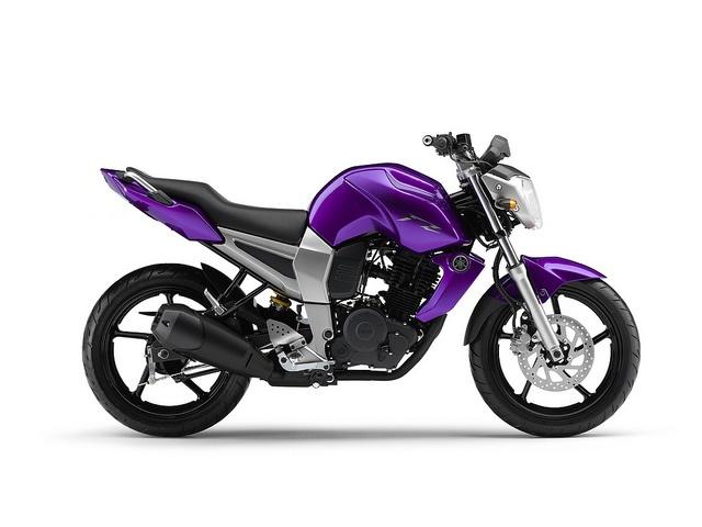 Yamaha Fz Purple Wheels