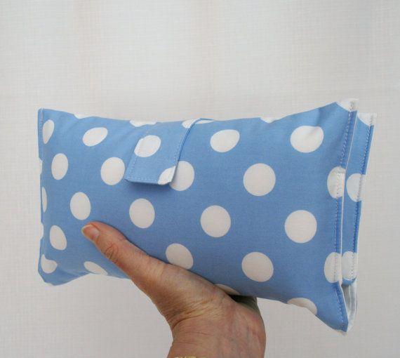 Nappy Wallet  Pastel Blue Spot by VickiElle01 on Etsy