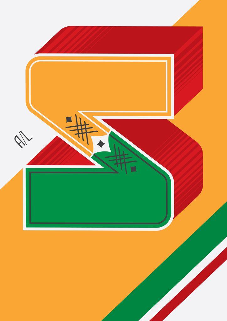 Posters inspirados em letras de barcos da Amazônia.
