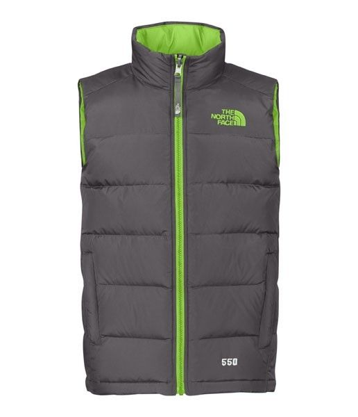north face boys vest