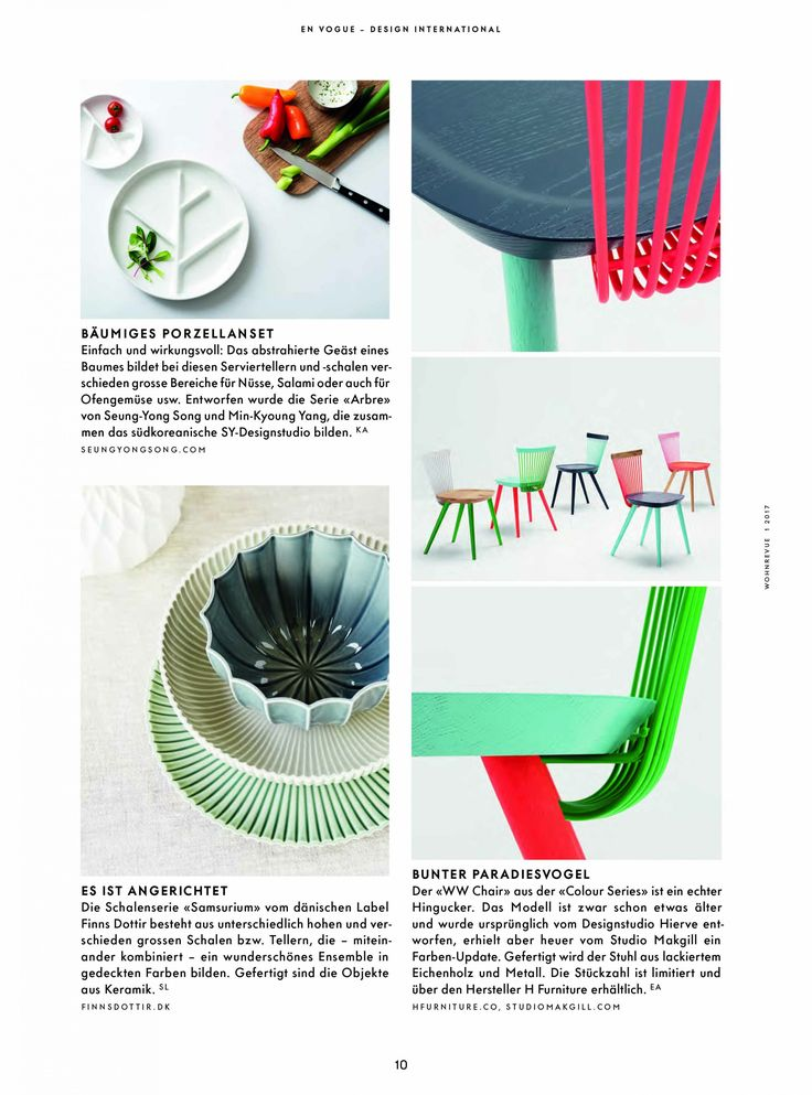 ww chair colour series h - Einfache Dekoration Und Mobel Interview Mit David Geckeler