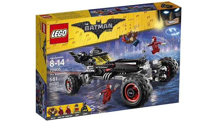 One of the best LEGO kits in years, based on the brand new LEGO Batman Movie. Check out the Batmobile building kit.
