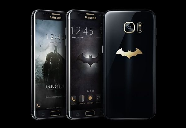 SAMSUNG releases Batman-inspired Galaxy S7 edge Injustice Edition - Video. #Android #Google @NEWsEden  #NEWsEden