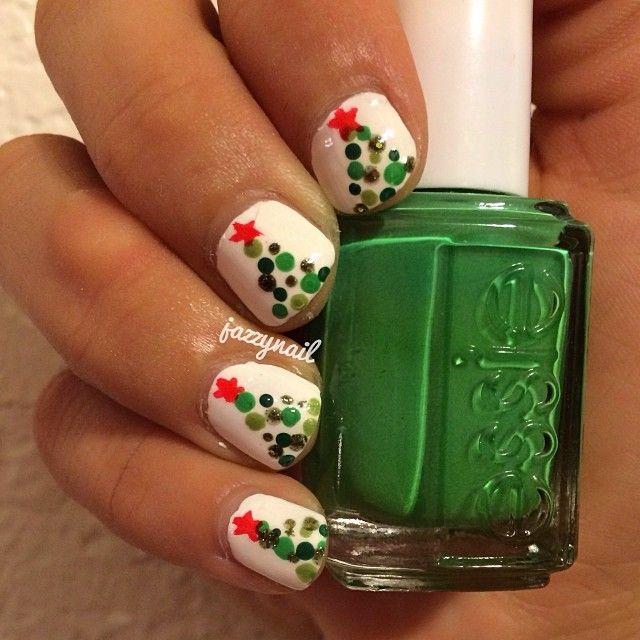 christmas by jazzynail #nail #nails #nailart
