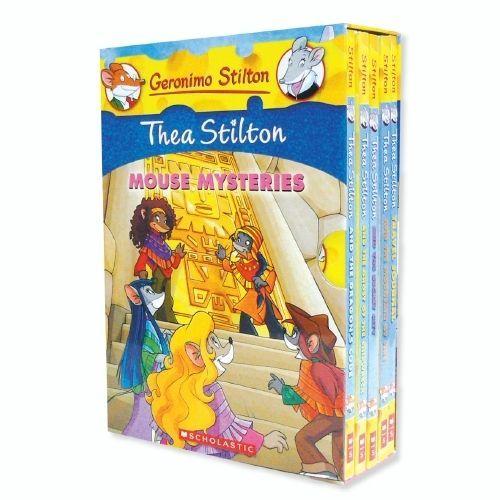 #Thea Stilton: Mouse Mysteries Boxed Set vol. 1-4 + bonus NEW $48.29
