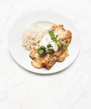 Chicken Enchiladas Verdes | Get the recipe for Chicken Enchiladas Verdes.