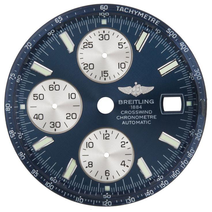 Breitling Crosswind C597 Blue Watch Dial Breitling