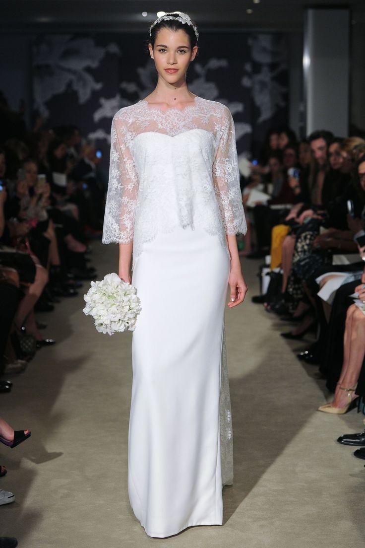 calorina #CarolinaHerrera #SS2015 #NewYork #NOVARESE #weddingdress #dress #white #キャロリーナ #キャロリーナ・ヘレラ #ウエディングドレス #Aライン #白