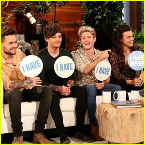 One Direction Plays 'Never Have I Ever' with Ellen DeGeneres – Watch Now!