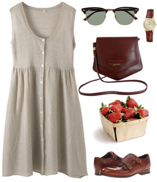 I don't know if strawberries are a necessary accessory, but everything else works