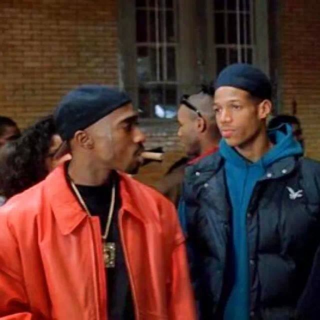 Pac and Marlon Wayans in Above the Rim