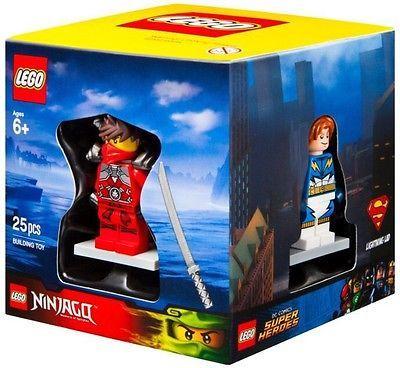 NEW LEGO TARGET Exclusive 4 Fig Set. Lightning-Lad, Kai, Sir-Fangar, Scuba-Diver
