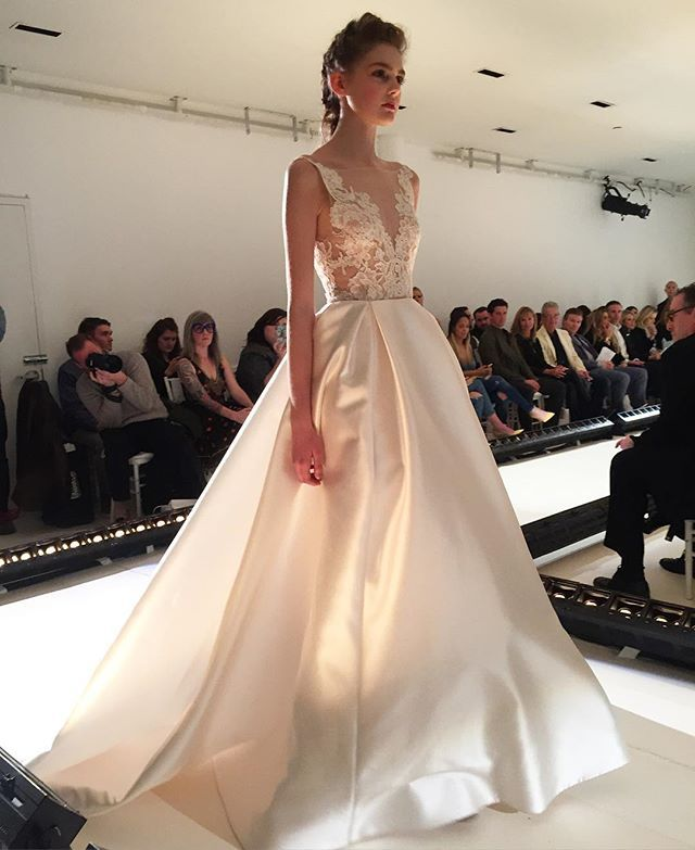 Beautiful new Lazaro bridal gown. Call J.J. Kelly Bridal today to book your appointment