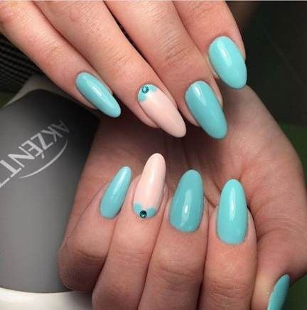 67 ideas nails almond turquoise shape  nail designs ring