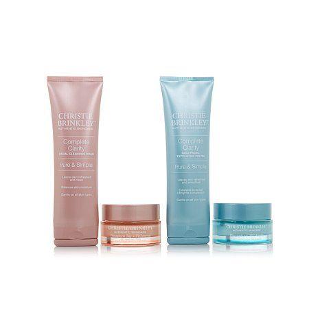 Christie Brinkley 4-piece Skin Care Essentials Set   HSN