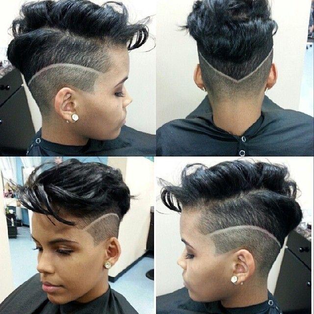 Cute Cut @mesicuts - http://www.blackhairinformation.com/community/hairstyle-gallery/relaxed-hairstyles/cute-cut-mesicuts/ #haircut #shorthair