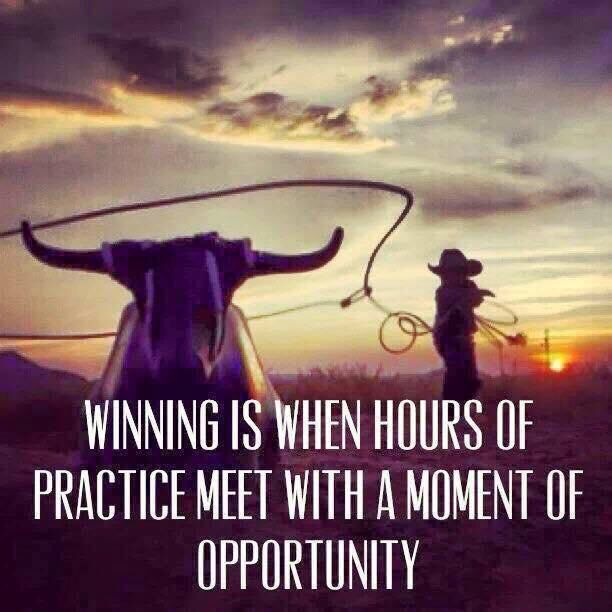 Moment of opportunity ...