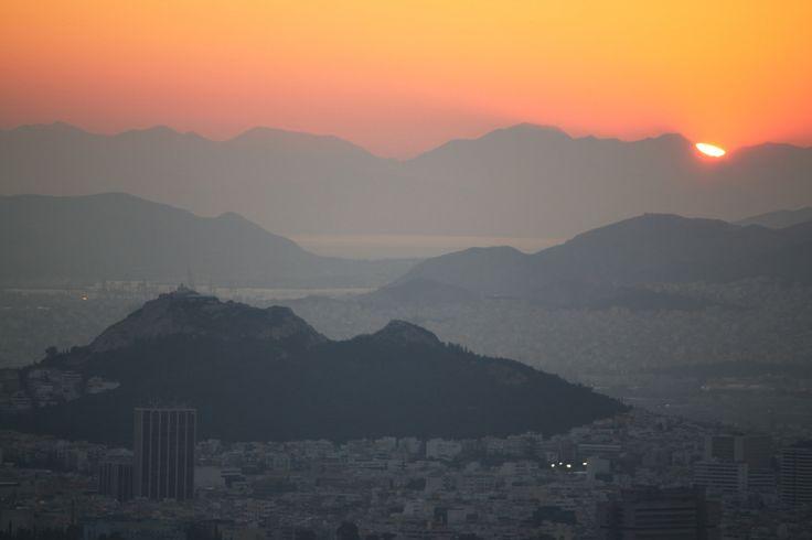 Lycabetus hill, Athens, Greece