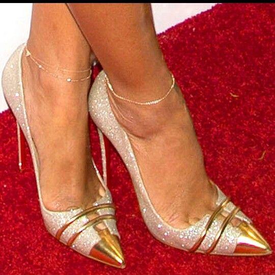 Nueva Sapato Feminino Hot venta Prom Shoes tacones altos estrellas vestido de noche brillo de plata bombas para mujer zapatos de tacón alto