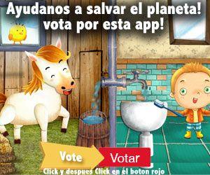 Ayudanos a salvar el planeta!vota por esta app!