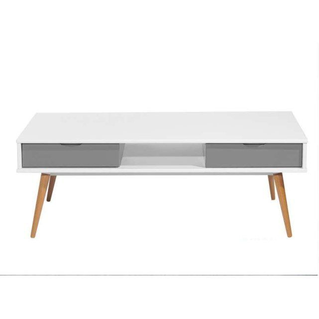 Table basse hilo free wood counter height table with for Table basse hilo