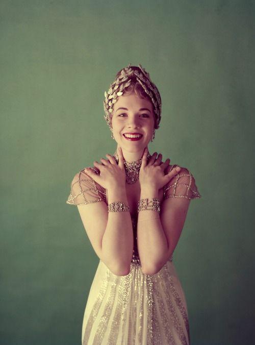 Julie Andrews, 1950s.
