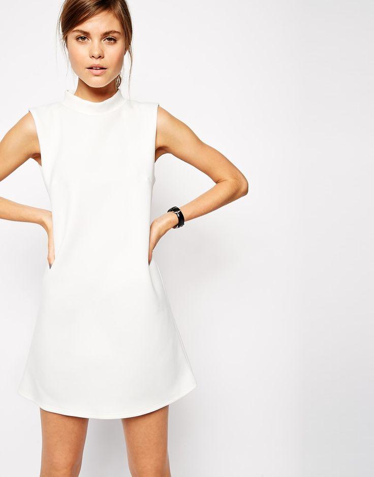 1000  ideas about White Shift Dresses on Pinterest | Shift dresses ...