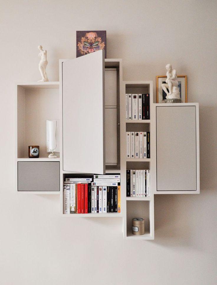 paris 17 un petit appartement de 31 m2 restructur idees deco int rieure. Black Bedroom Furniture Sets. Home Design Ideas