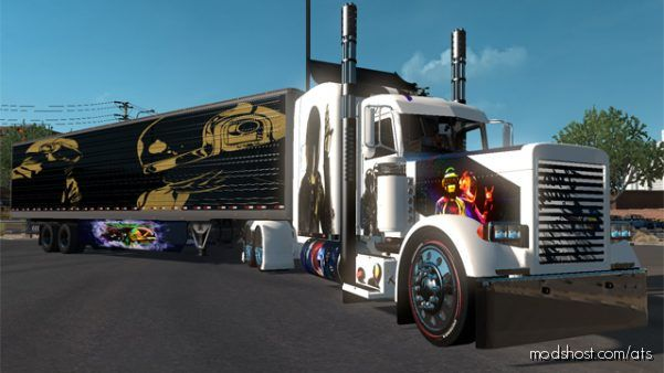Download Daftpunk Skin Pack Mod For American Truck Simulator At