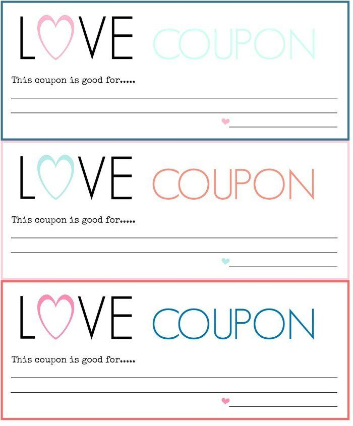 Free Coupon Maker Template Fresh Diy Love Coupons Free Printable A Blossoming Life In 2020 Free Coupon Template Coupon Template Love Coupons