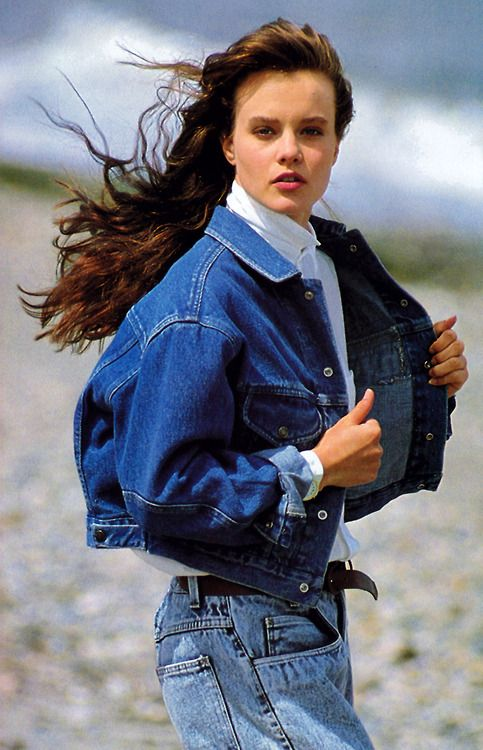 Calvin Klein Jeans/Nordstrom, Elle magazine, November 1987.