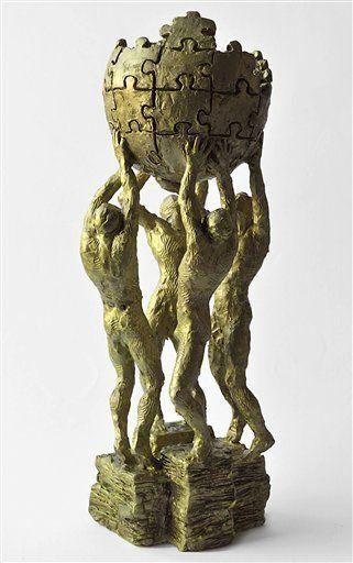 Ένα άγαλμα 14.000$ προς τιμή της Wikipedia