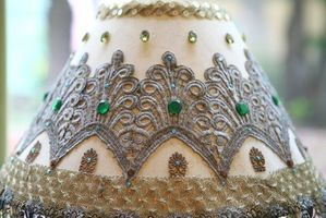How to Decorate a Lampshade | eHow