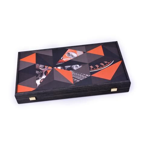 Handcrafted Creative Backgammon - Super Cars