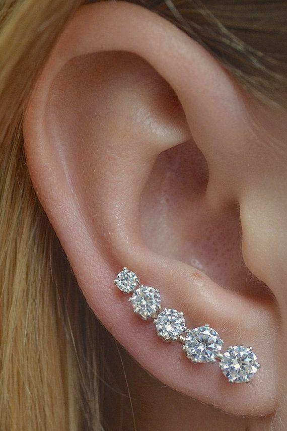 boucle d'oreille diamant ☆                                                                                                                                                                                 Plus